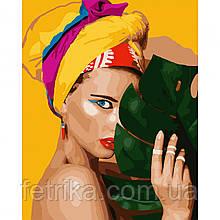 "Набор для рисования, картина по номерам ""Тропиканка"", 40*50 см., SANTI"