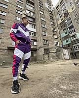 Спортивный костюм мужской Пушка Огонь Split фиолетово-розовый