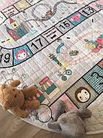 Дитячий килимок-мішок (Dizzy) круглий  150 см.(150-440-N)