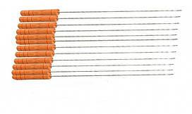 Міні шампура з дерев'яною ручкою