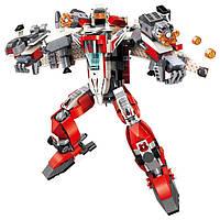"""Конструктор для мальчиков Qman 3304 """"Mirage Knight. Blast Ranger"""" Робот-самолет"""