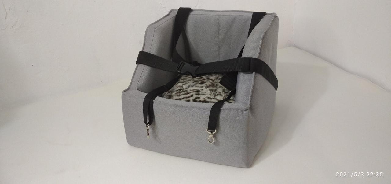 Автокрісло для собак тканина ,лежак в авто, автокрісло для перевезення собак, автокрісло, автокрісло для тварин