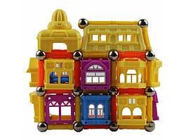 """""""Магнітні кубики"""" 108 деталей , дитячий конструктор магнітні кубики"""