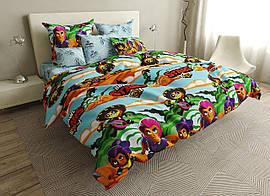 Детский комплект постельного белья 150*220 хлопок (16551) TM KRISPOL Украина