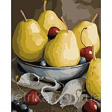 "Набор для рисования, картина по номерам ""Натюрморт с грушами"", 40*50 см., SANTI"
