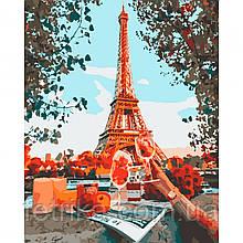 "Набор для рисования, картина по номерам ""Пикник в Париже"", 40*50 см., SANTI"