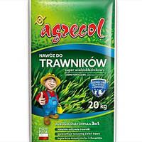 Удобрение Агрекол/ Agrecol для газонов SUPER многокомпонентное, 20 кг