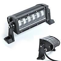 Фара-LED  Балка  180*75*85mm 30W (5W*6) 10-30V  Ближний+Габарит (LLB 48W) (1шт)