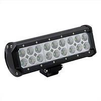 Фара-LED Балка  230*80*70mm  54W (3W*18) 10-30V  Ближний/Flood (D-54W) (1шт)   2771