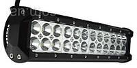 Фара-LED Балка  305*107*73mm  72W (3W*24) 10-30V  Дальний/Spot (D-72W) (1шт)   2601