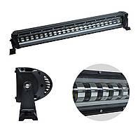 "Фара-LED Балка  690*85*90mm  120W (5W*24) 10-30V  Ближний с неоновым Ободом 4 режима ""Лидер"" (K120W)"