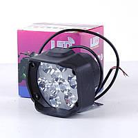 Фара -LED  Овал-мини  27W (3W*9) 12-85V  97*76*40mm  Дальний/Spot  (1шт)  3295