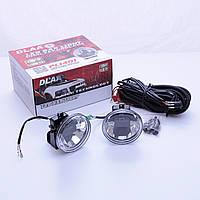Противотуманные LED Фары Линза D=100мм 12V/12W 6000K/CREE (2шт) + кнопка вкл/выкл DLAA LP1401 (6)