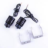 Противотуманные LED Фары Линза D=45мм 9-24V/40W Радиатор Ближ/Дал(W/Y) 6000K/3000Lm 4 127
