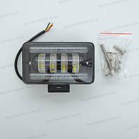 Фара-LED  прямоугол 60W (15W*4) 10-30V 150*90*65mm Ближний/Flood PREMIUM+ДХО+Линза 04-60W 3 989(1шт)