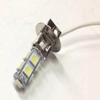 Світлодіод H3 12V 9 SMD (5050) білі (21019)