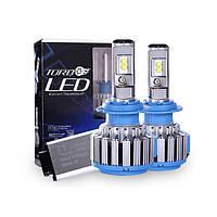"Лампа LED H1 вентилятор 3600Lm ""Turbo Led"" T1 /Epistar/35W/6000K/IP65/8-48v (2шт) 6міс.гарантія"