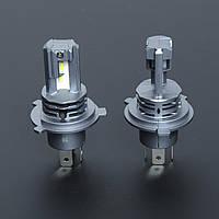 """Лампа LED H4 радіатор 3500Lm """"FORT"""" F3 /CSP/25W/6000K/IP65/9-16v (2шт) 9 міс.гарантія"""