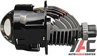 Линза би-LED 2.5'(D75 мм) A1 H4/H7 универсальная (крепление гайка)(2 шт к-т)