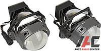 """Линза би-LED 3""""'(D75 мм) A8 крепление Hella 3 замена штатной (2 шт к-т) (ярче чем А3)"""