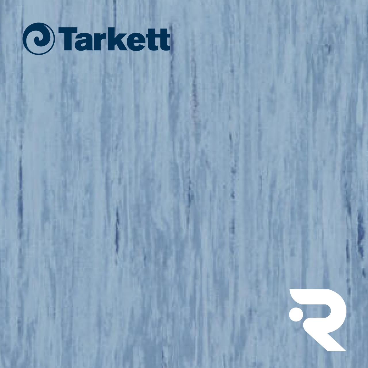 🏫 Гомогенний лінолеум Tarkett | Standard MEDIUM BLUE 0492 | Standard Plus 2.0 mm | 610 х 610 мм