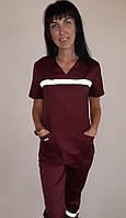 Жіночий костюм Швидкої допомоги бавовна короткий рукав, фото 1