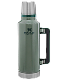 Лот №12, Термос STANLEY Classic Legendary 1.9 литра зелёный, состояние (5) по пятибалльной шкале, фото 3