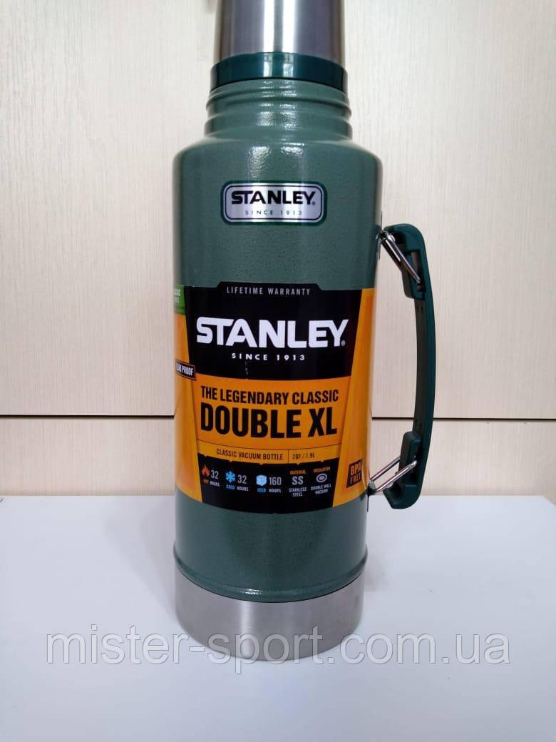 Лот №19, Термос STANLEY Classic Legendary 1.9 літра зелений, стан (5) за п'ятибальною шкалою