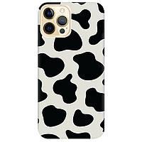 Чохол для Apple iPhone 12 Pro напівпрозорий матовий soft touch Cow