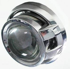 "Линза биксенон 3'(D75 мм)  H1(адаптеры Н4/Н7)  ""Fantom"" (A5) SO20SA08 (1шт)   (9мес.гарантии)"