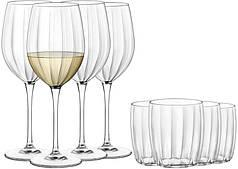 Набор стаканов и бокалов Florina Incontri Borm 430 мл х 4 шт + 290 мл х 4 шт (3Z9912)