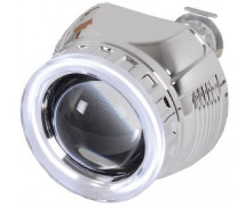 "Линза биксенон 2.5'(D63 мм)+ Англ.глаза(газ) H1(Н4/Н7) ""Fantom"" B3 (1шт)"