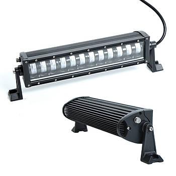 Фара-LED Балка 335*75*85mm 60W (5W*12) 10-30V Ближній+Габарит (LLB 96W)