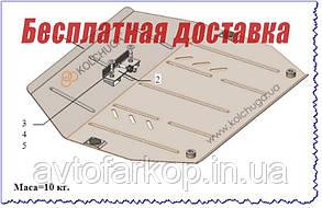 Защита двигателя,КПП Acura MDX (2013-)(Защита двигателя Акура МДХ) Кольчуга