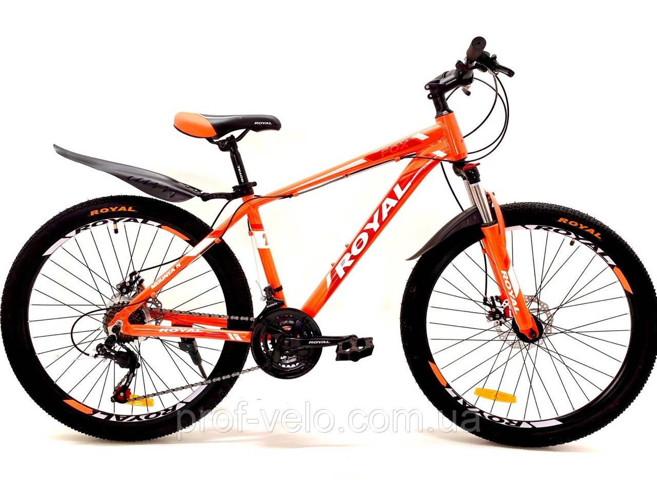 """Велосипед спортивный Royal 26-16"""" FOX оранжевый"""
