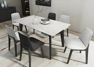 Мраморный обеденный стол RD-0781