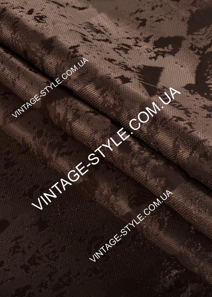 Ткань для штор Коллекция Сорренто Люкс шоколад Р-11217