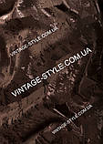 Ткань для штор Коллекция Сорренто Люкс шоколад Р-11217, фото 2