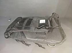 УЦІНКА! Рюкзак-сумка на одне плече для велоспорту, подорожей, туризму, кемпінгу Спартак 600D Black