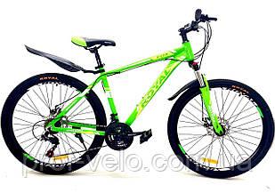 """Велосипед Royal 26-16"""" FOX салатовий"""