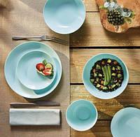 Сервиз Столовый Лазурный Luminarc Diwali Light Turquoise 19 предметов
