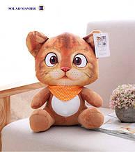 Котик плюшевый 3D, мягкая игрушка, с присоской