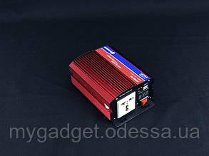 Преобразователь тока PowerOne+ 12V-220V 500W + USB/LED (PD-500W)