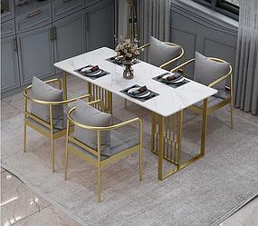Мраморный обеденный стол RD-0782