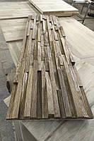 Дерев'яна яні 3D панелі на стіну Рейки