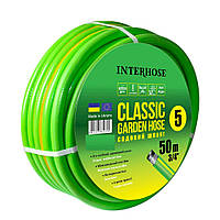 "Шланг поливальний Интершланг CLASSIC-5 1/2"" 12,5 мм 50 м, фото 1"