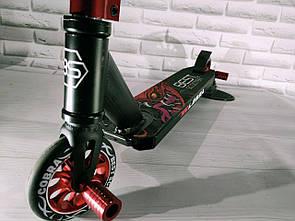 Акция Трюковой самокат Best Scooter Бест Скутер,компрессия HIC колесо 110 мм с пегами  для трюков