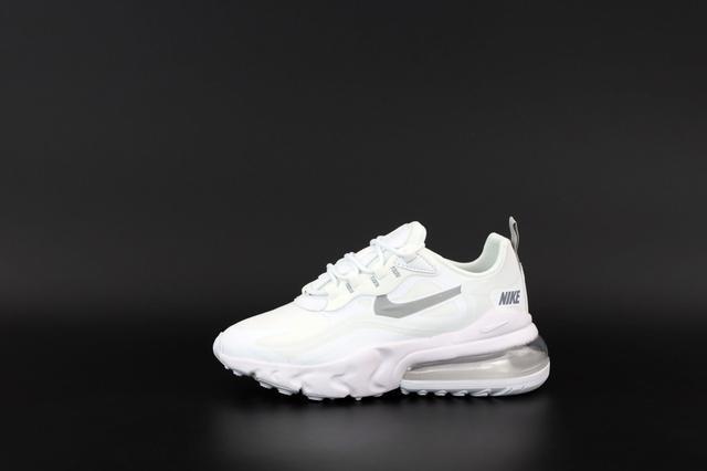 Женские кроссовки Nike Air Max 270 React White фото