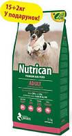 Nutrican Adult 15кг+2кг корм для собак