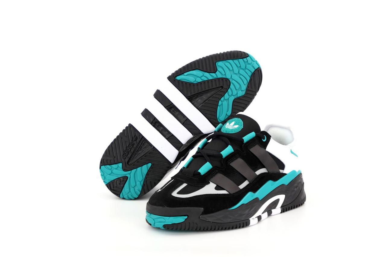 Мужские черные Кроссовки Adidas Niteball